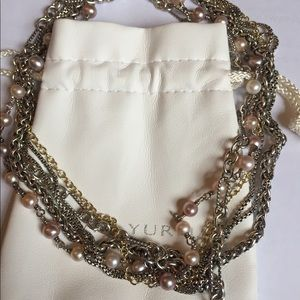 David Yurman Multi Strand necklace
